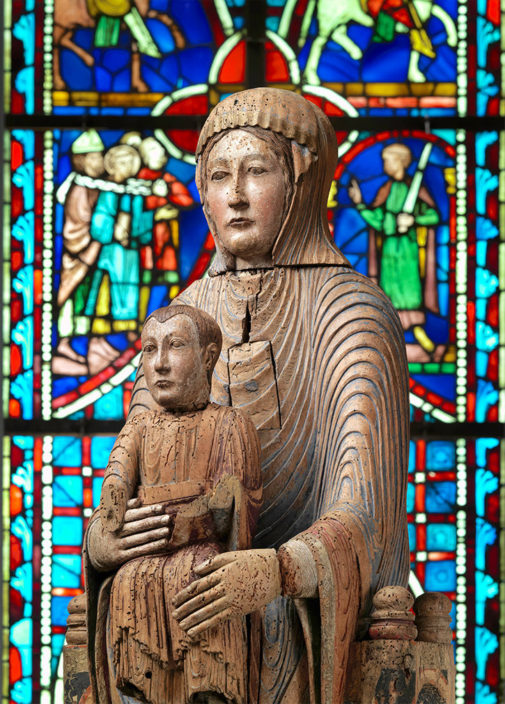 Virgin and Child in Majesty | 1175-1200 | 16.32.194a, b