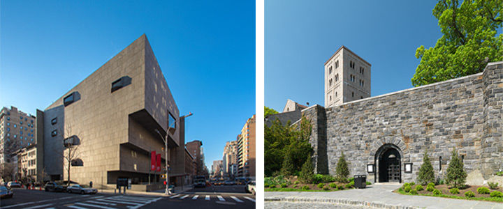 Breuer and Cloisters locations