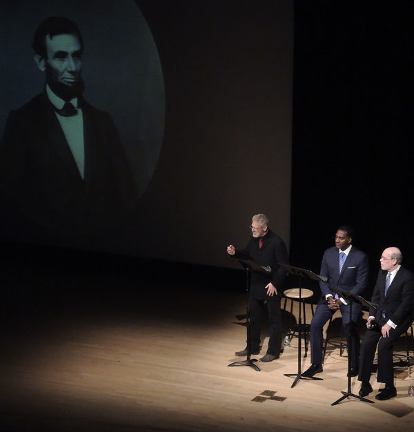 "The Unknown ""Lincoln-Douglass"" Debate, held February 18, 2014, in the Grace Rainey Rogers Auditorium"