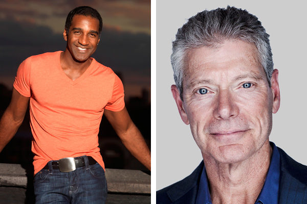Left: Norm Lewis. Right: Stephen Lang