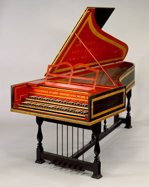 Harpsichord, Chickering & Sons