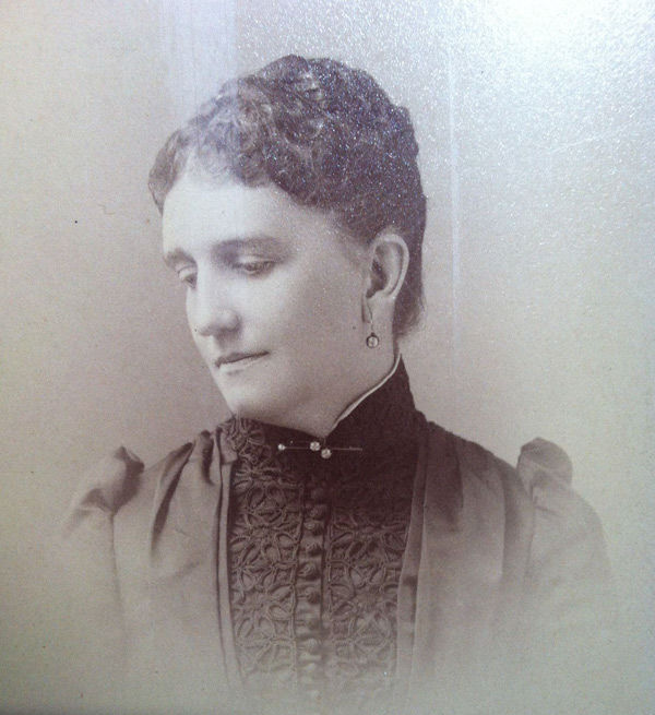 Mary Elizabeth Adams Brown, 1881