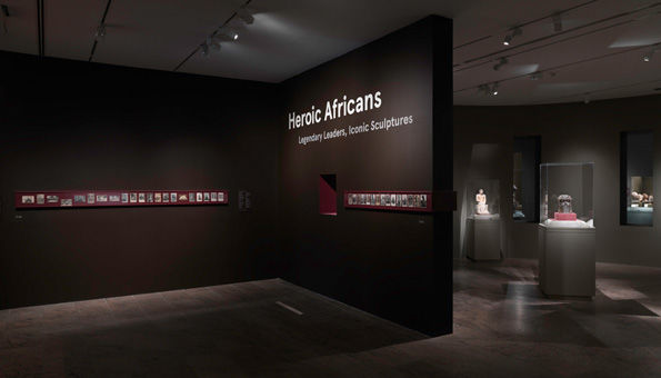 Gallery view of Heroic Africans: Legendary Leaders, Iconic Sculptures