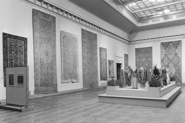 """Oriental Rugs and Textiles"" Exhibition, 1935"