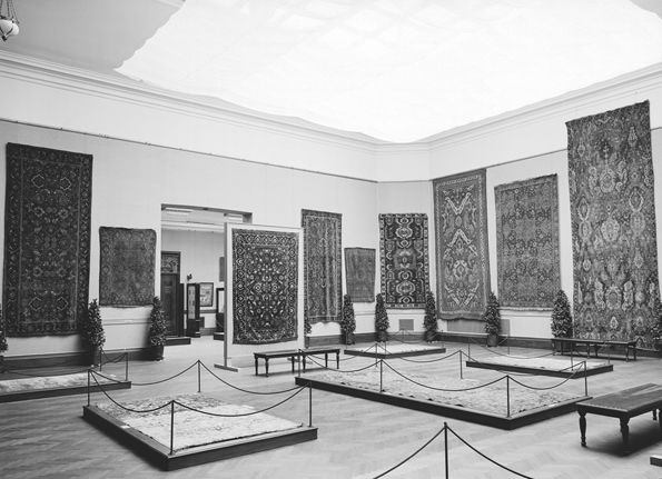 """Early Oriental Rugs"" Exhibition, 1910"