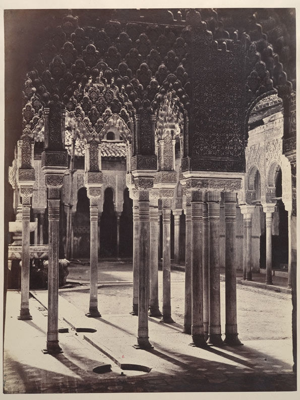 The Lion Court at the Alhambra, Viewed from Beneath the Portico Temple