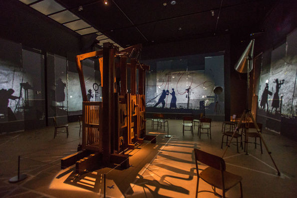 The Refusal of Time, MMA Installation