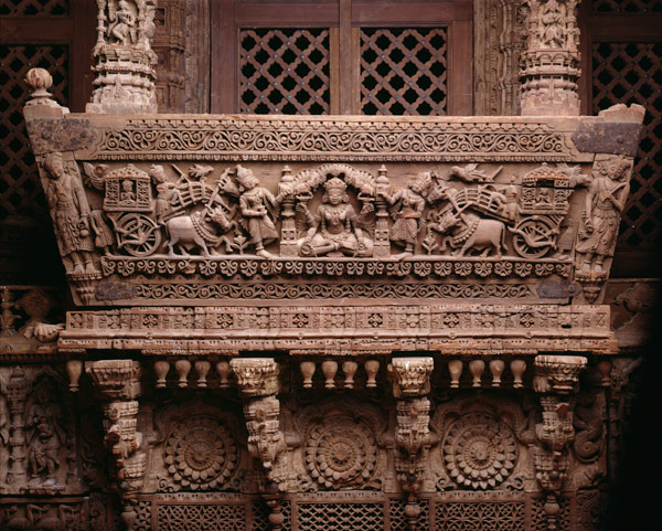 Architectural Ensemble from a Jain Meeting Hall, last quarter of 16th century | 16.133.1