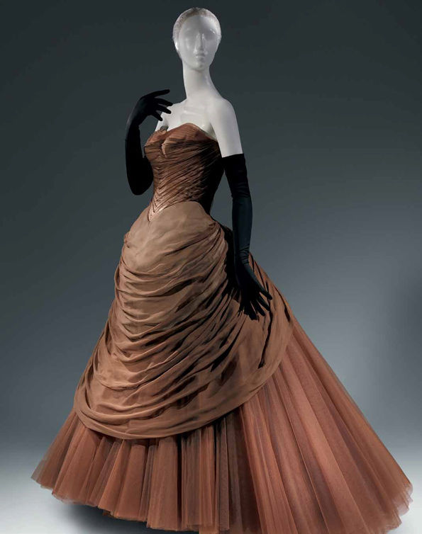"Charles James. ""Swan"" Gown, ca. 1954"