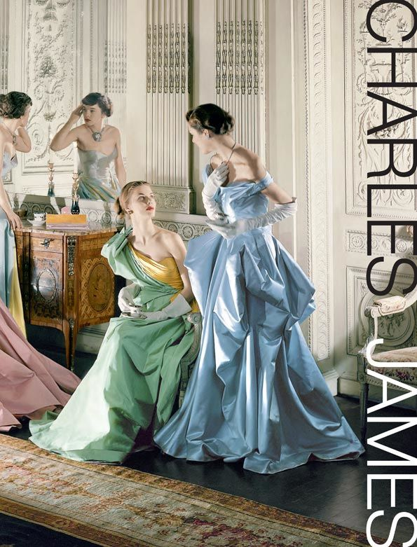 Charles James: Beyond Fashion; exhibition catalogue cover