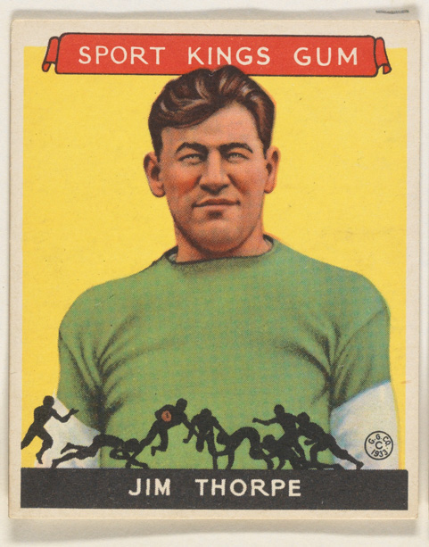 Jim Thorpe, Football