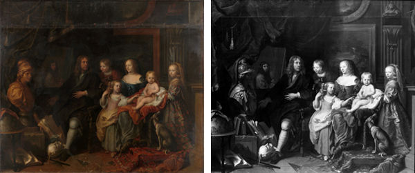Left: The Met's work. Right: The Berlin picture