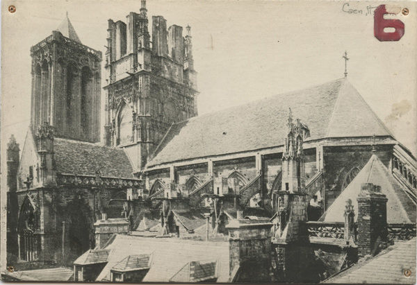 Photo of Church of St. Jean, Caen, France (before)