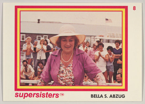 Bella S. Abzug, Supersisters No. 8