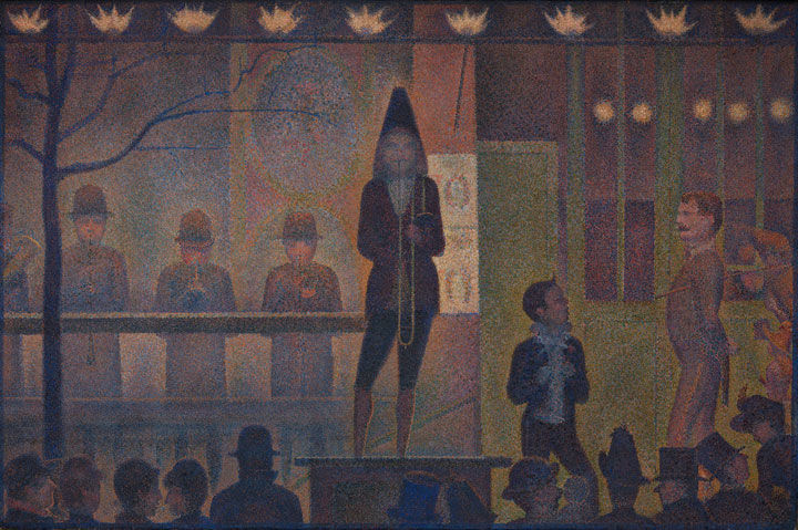 Following the Trail of (Ginger)bread Crumbs: Seurat, the Corvi Circus, and the Gingerbread Fair
