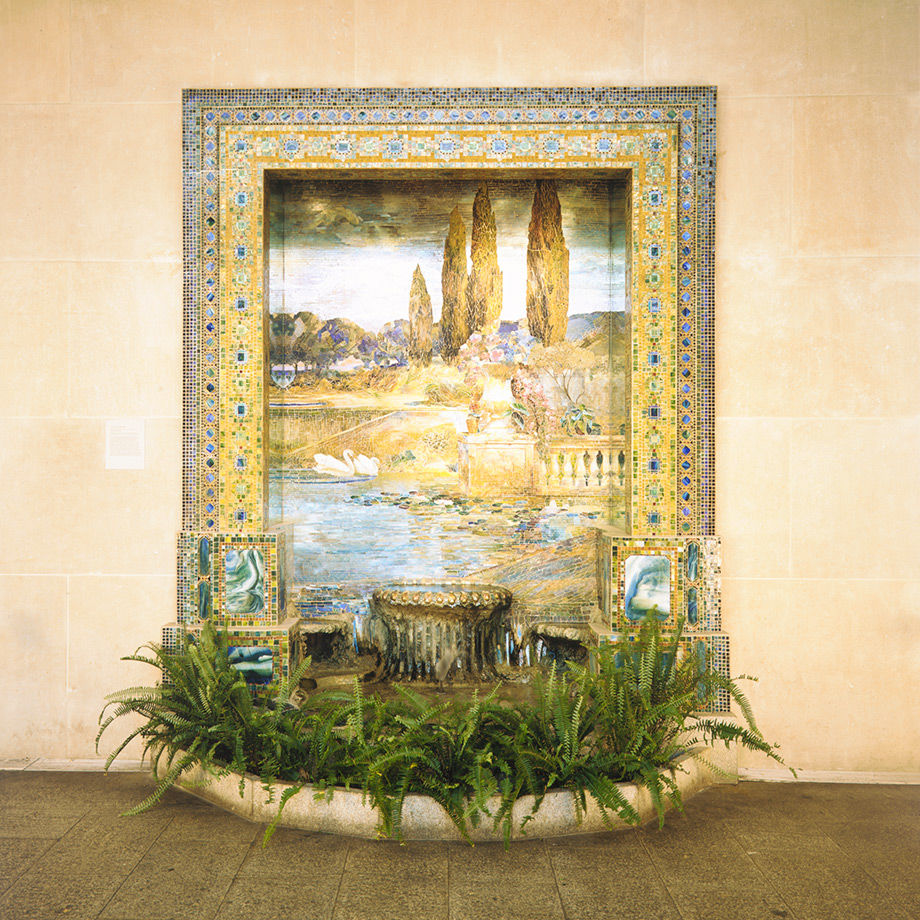 Louis Comfort Tiffany's fountain