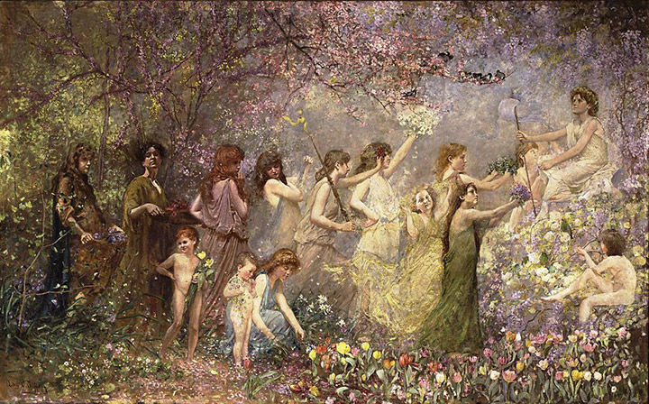 Louis Comfort Tiffany Blossoms of Spring