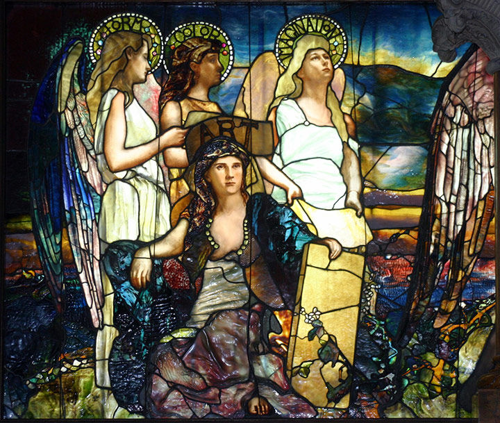 Louis Comfort Tiffany's Canada stained glass