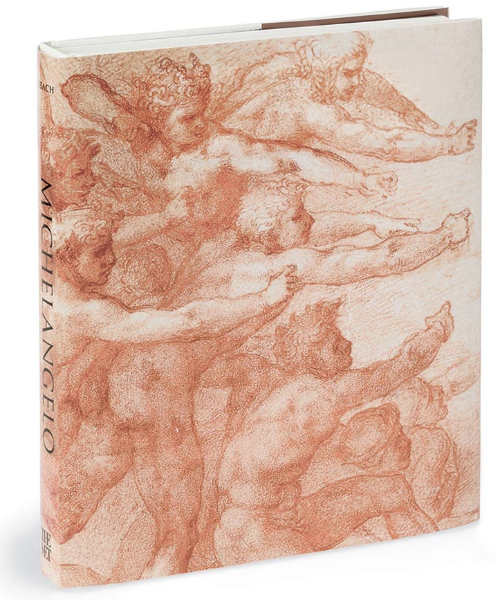 Cover of the book 'Michelangelo: Divine Draftsman and Designer'