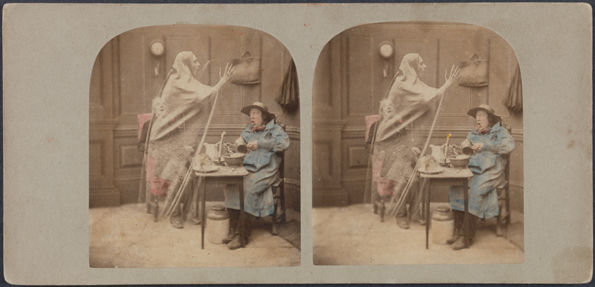 London Stereoscopic Company | The Ghost in the Stereoscope | 1982.1182.1284