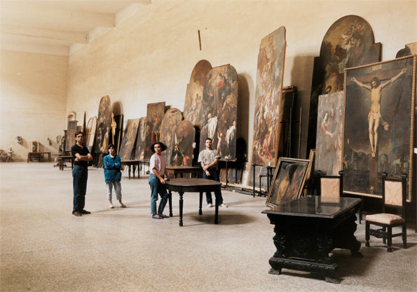 The Restorers at San Lorenzo Maggiore, Naples