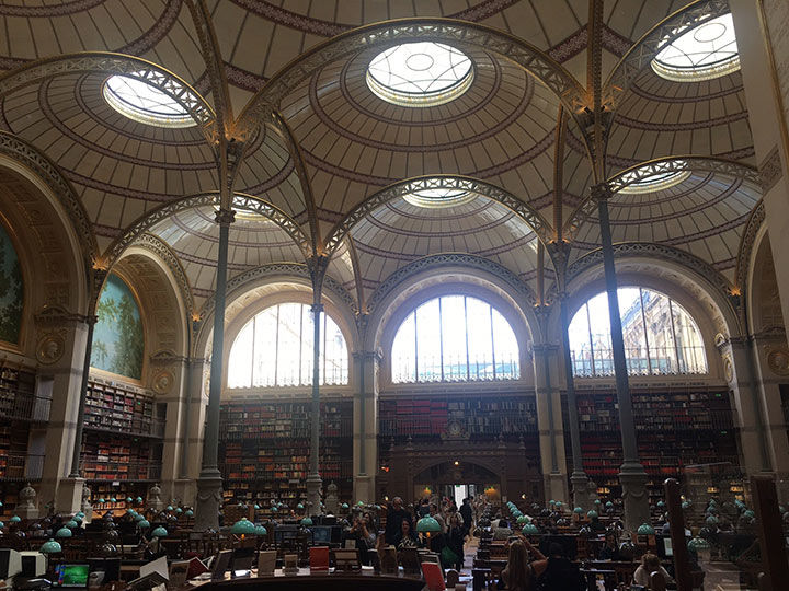 A Tour of the Art Libraries of Paris - The Metropolitan Museum of Art, New York 2017-09-11 23:00
