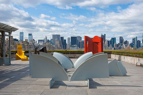 Anthony Caro on the Roof