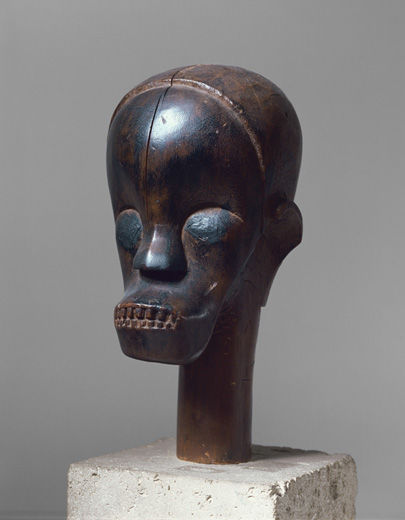 Sculptural Element from a Reliquary Ensemble: Head