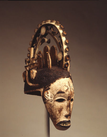 Maiden Mask (Agbogho mmuo)