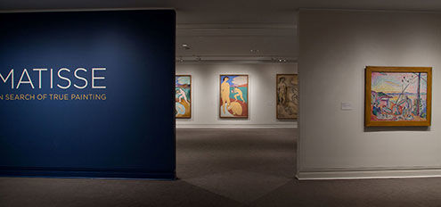 Matisse: In Search of True Painting, installation view of gallery 1