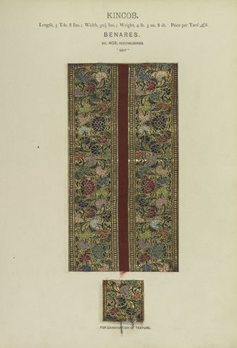 J. Forbes Watson, Collection of Specimens and Illustrations of the Textile Manufactures of India