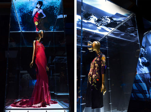 Anna May Wong Gallery View Dior Evening Dress and Paul Smith Ensemble