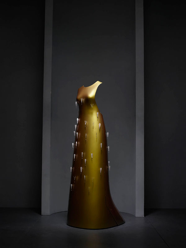 Hussein Chalayan Kaikoku Dress On Display At Met's Costume Institute