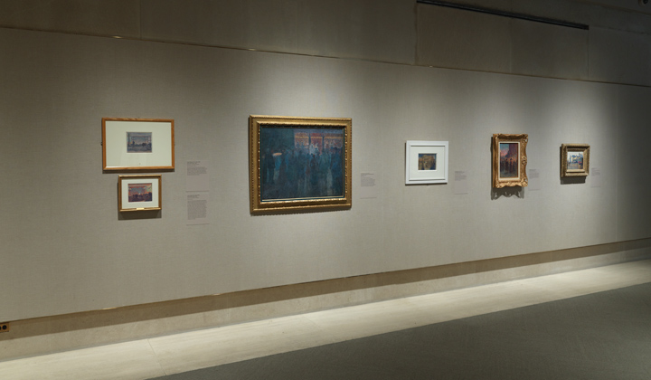 "Gallery view of ""Seurat's Circus Sideshow"""