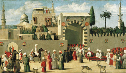 Reception of the Venetian Ambassadors in Damascus