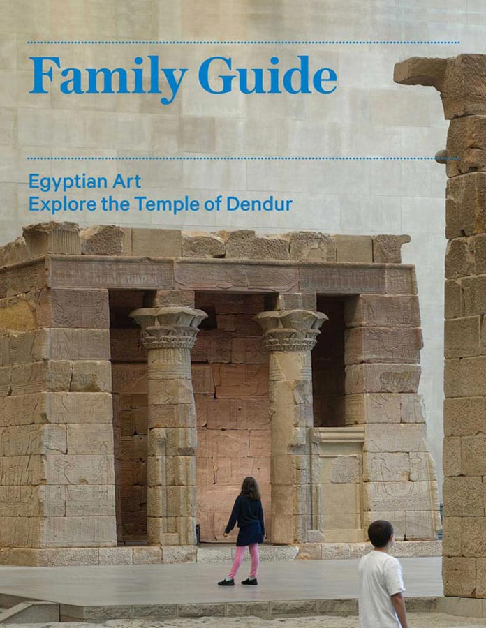 Explore the Temple of Dendur | Family Guide cover