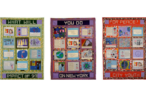 9-11 Peace Story Quilt