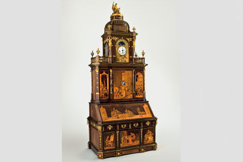 Magnificent 18th–Century Mechanical Furniture by Abraham ...
