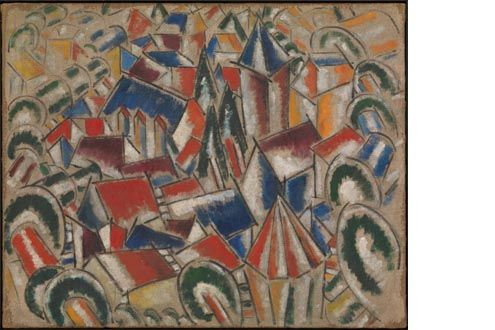 Léger Masterpiece The Village—Acquired through Additional Gift from Leonard A. Lauder—Now on View at Metropolitan Museum