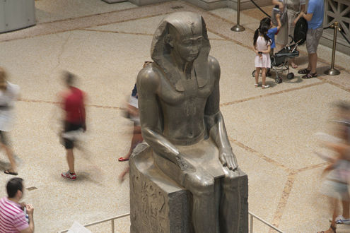 Colossal Statue of a Pharaoh