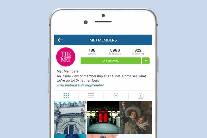 MetMembers Is Now On Instagram