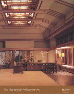 Frank Lloyd Wright At The Metropolitan Museum Of Art Bulletin V 40 No 2 Fall 1982