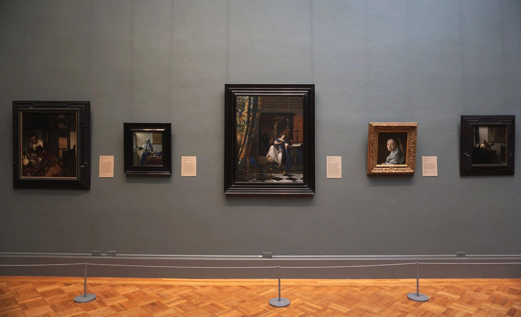 Art In Paradise D Exhibition Hall : A new look at vermeer the metropolitan museum of art