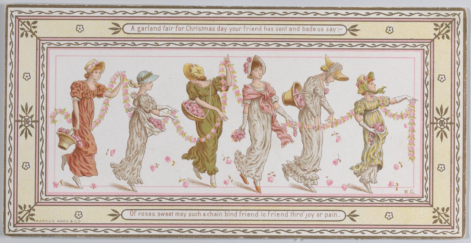 "The ""Greenaway Vogue"": Kate Greenaway's World of Valentines"