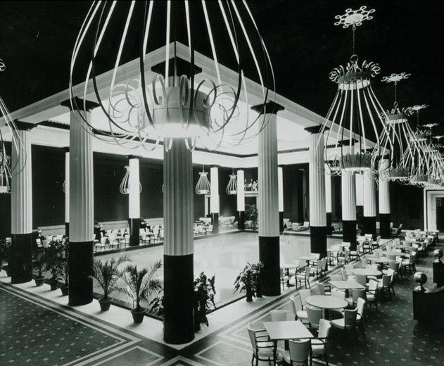 The Metropolitan Museum Of Art Restaurant Designed By Dorothy Draper Image