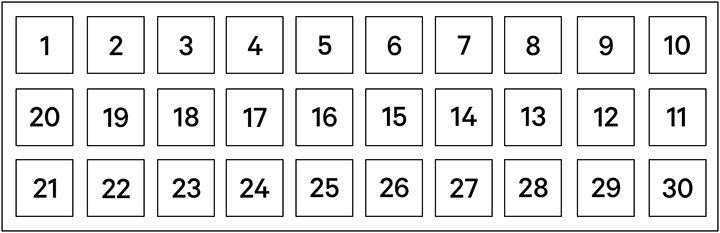 how to make a senet game
