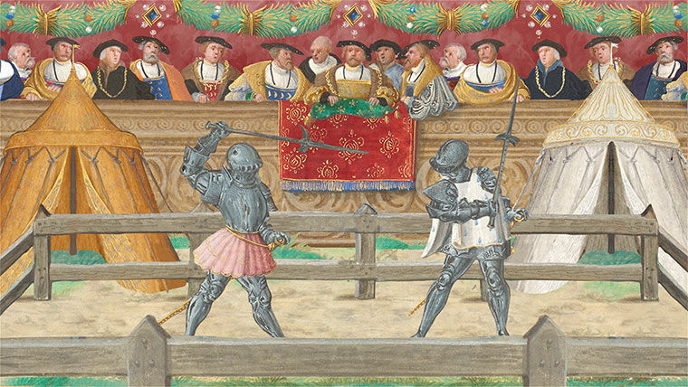 Unhorse Your Foe! Knightly Tournament Games from Medieval Europe