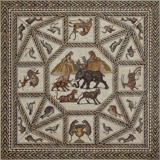 Lod Mosaic, ca. 300 (Lod Mosaic Archaeological Center, Israel)