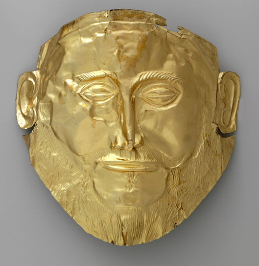 The Mask Of Agamemnon An Example Of Electroformed