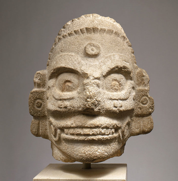 Decoding A Maya Rain God Sculpture From Chichen Itza The